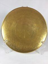Obsorne Floral Posie Flower Basket Art Nouveau Gold Encrusted Salad Plate