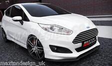 "Frontal Divisor (texturados) Ford Fiesta Mk7 ""st-line"" lifting (2013-up)"