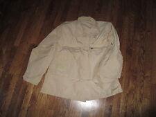 """abdu shirt ,khaki""""coat  aircrew combat tan"""", nomex, new old stock, medium long"""