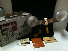 Vintage Mayfair Extendolite Jr. Folding Model Including Exposure Calculator 1954
