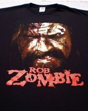 ROB ZOMBIE hellbilly deluxe 2 tour LARGE concert T-SHIRT white