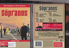 sopranos season 3 (4 dvd set) region 4