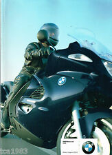 HUGE 2003 BMW Motorcycle RIDER APPAREL Catalog / Brochure: Leather's,Boots,.....
