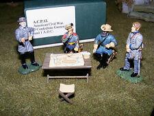 Frontline Figures, estados sureños general lee, Stuart, Longstreet y oficial, acp12