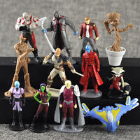 12 Guardians of the Galaxy 2 Action Figures Dancing Groot Rocket Toy Cake topper