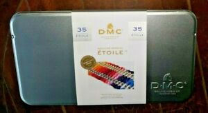 DMC 35pc MOULINE SPECIAL ETOILE in Tin Embroidery Floss (8.7yd Per Skein)