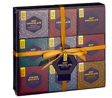 Hot Chocolate Gift Set Collection 7 Assorted Hot Choc Flavoured Mix, Marshmallow