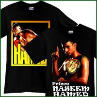Prince Naseem Hamed Boxing Champion Winner Sport Black T-Shirt TShirt Tee