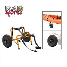 New listing RAD Sportz Kayak Trolley Pro Premium Kayak Cart Airless Tires 150 LB Cap Orange