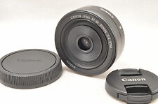 Canon EF-M 22mm f/2 STM lens milorless camera for M10,M3,M5,M6 Black