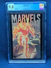 Marvels #1 Vol 1 Comic Book - CGC 9.8