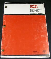 New ListingCase Model 32 32S Backhoe 32 Loader For 530Ck Tractor Parts Manual Book Catalog