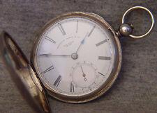 pre civil war Appleton Tracy pin plate hunter  ~ sn# 9310 ~ model 1857 key wind