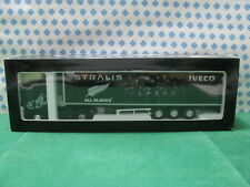 Truck - FIAT IVECO  STRALIS bilico All Blacks  - 1/43 Promotional , Eligor