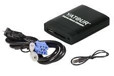 Yatour USB SD AUX MP3 Adapter für Smart, Fiat, Lancia mit Ausbauhaken