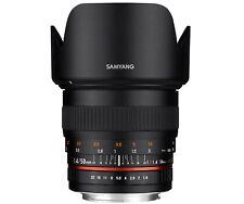 Samyang 50mm F1.4 AS UMC Full Frame Standard Lens for Nikon DSLR