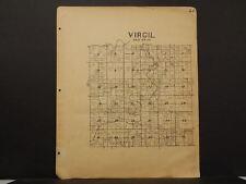 Missouri Vernon County Map Virgil Township 1928   !R5#12
