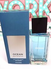 Bath and Body Works Signature Collection OCEAN For Men Cologne Spray 3.4 oz