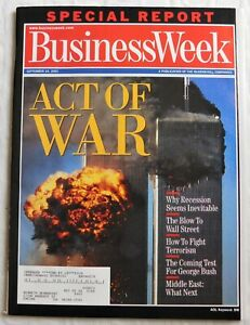 Business Week Magazine Act Of War Special Report September 24 2001 9/11