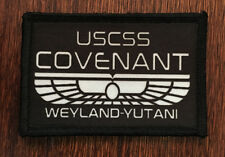 Alien Covenant Movie Morale Patch Tactical Army Hook Badge Military Flag USA