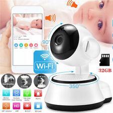 WIFI Wlan IP Kamera 1080P HD Überwachungskamera Funk Webcam Innen IR Nachtsicht