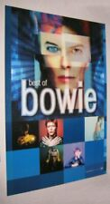 """Original DAVID BOWIE BEST OF BOWIE RECORD STORE POSTER 24"""" X 36"""""""