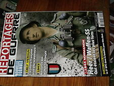 1µ?n  Revue Reportages de guerre n°17 Naissance Waffen français Heer/Waffen