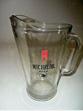 Vintage 1970's Michelob Beer Glass Pitcher Usa Retro Original Bar large heavy