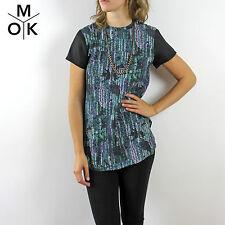 COS neu T-Shirt Shirt TOP 34/XS Seide Trend Design Dress Vintage (678)