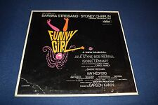 Barbara Streisand Funny Girl  LP - Capitol St & Barbara Greatest Hits Bonus DVD