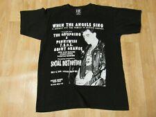 vtg Social Distortion 2000 When The Angels Sing Dennis Danell T-Shirt medium