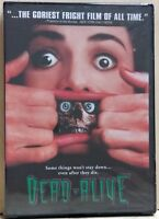 Dead Alive (DVD, 1998, Unrated Version) FACTORY SEALED / R1 / NTSC