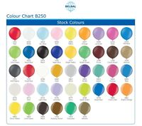 """1 GIANT 2ft LATEX BALLOON 24 inches 24"""", 2 foot, Choice of 42 colours Belbal"""