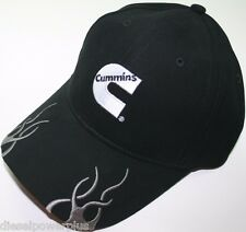 cummins dodge ball cap hat flame trucker style truck engine motor diesel gear