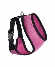 Dogline Mesh Harness Nylon Hot Pink Medium M M8202-7 13 N x 16-22 G in.