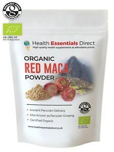 Organic Red Maca Powder (Libido, Fertility, Peruvian Ginseng) Choose Size: