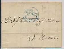 LO08157 Italy old letter cover with nice cancels used