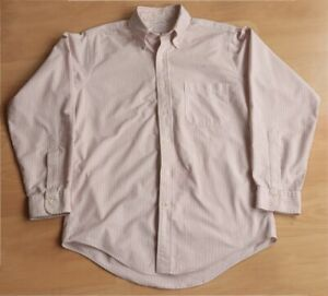 Vintage Brooks Brothers Oxford Cloth Striped Shirt 15* - 33 Made in USA