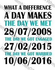 Personalised Mr & Mr Gay Couples Wedding Engagement Anniversary Love Gift