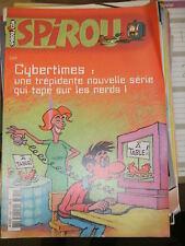 Spirou N° 3399 2003 BD Les petits hommes Cédric Game Over Les femmes en blanc