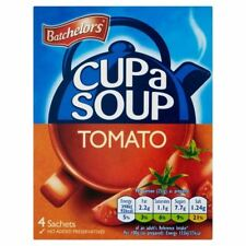 Batchelors Tomato Cup-a-Soup 4 x 23.3g - Pack of 2