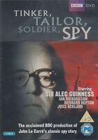 Tinker Tailor Soldier Spy Alec Guinness Ian Bannen BBC 2 Lot de Disques DVD Neuf