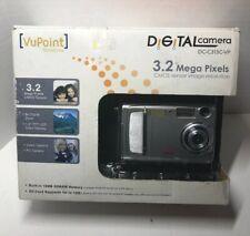 VuPoint DC-C313C-VP 3.2 MP Digital Camera - Silver