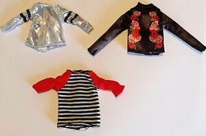 "Unboxed Mattel Creatable World top blouse t-shirt fit 9"" 10"" 11"" doll 1:6 Sindy"