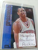 1996 Upper Deck SP Allen Iverson Premier Prospects ROOKIE Card #141 HOF