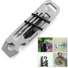 Tiny Ratchet Multi-Tool Key Chain 6 in 1 Key Chain Keyring Bottle Opener Ruler