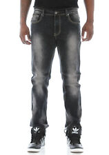 Mens premium Denim Ankle Skinny Fit Black jeans Flex Pants by Bleeker /& Mercer