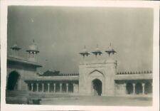 India 1931 Agra Fort The Marble Courtyard  v2Original Photo  3.5 x 2.5 inch