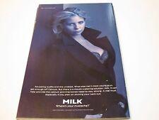 "SARAH MICHELLE GELLAR ""GOT MILK"" - 1998 - BACK COVER AD"