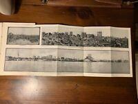 Rare HTF 1912 City Baltimore Book Maryland Illustrated Harbor Maps PanoramicView